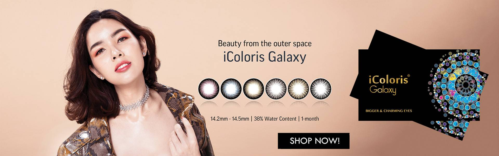 iColoris Galaxy Contact lens