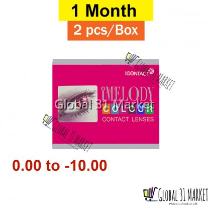 iContact , iMelody Series, Monthly Color Contact lens , 14.mm , 2 pieces perbox , 7 Mystic Color