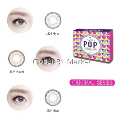 Magic pop Original series (J324) , Monthly color contact lens , 14.2mm