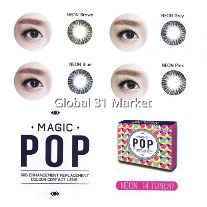 Magic Pop , Neon Series , Monthly color contact lens 14.5mm