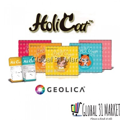Geolica Holicat Series , Monthly Color Contact lens , 14.5mm ( 5 Series color)