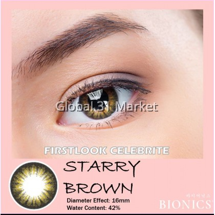 Bionics Firstlook Celebrite 3 Months Circle Lens 16mm Super Big Eyes