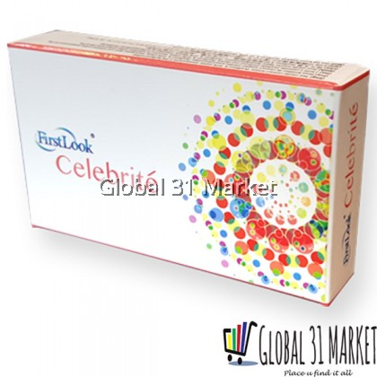 Firstlook Celebrite Series 3 Months Color contact lens . 16mm Bigger eyes Effect