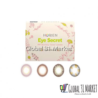 Horien  Eye Secret 1 Month Disposable Color Circle Lens (Ready Stock)