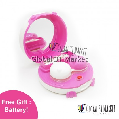Contact lens Cleaner machine with Free Battery Ready stock (pink)