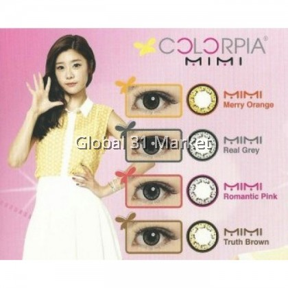 Colorpia Mimi Series , Monthly Color Contact Lens , 14.5mm , Bigger Eyes Effect