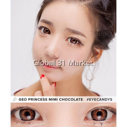 Geolica MiMi Princess Series , 3 Month Color Contact lens, 15mm