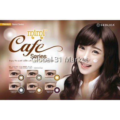 Geolica MiMi Cafe Series , 3 Month Color Contact lens, 15mm