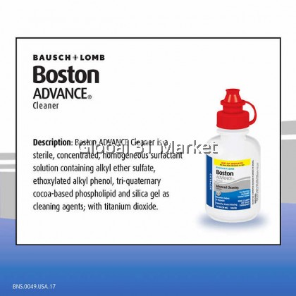 Bausch Lomb Boston Advance Hard & Gas Permeable Contact Lens Cleaner 30ml