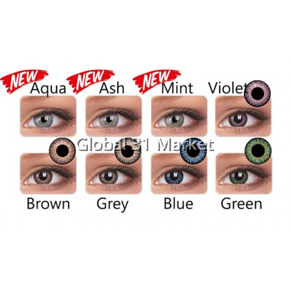 Colourvue 3 Tones Perfect Blends Series , 14mm , 3month Lens