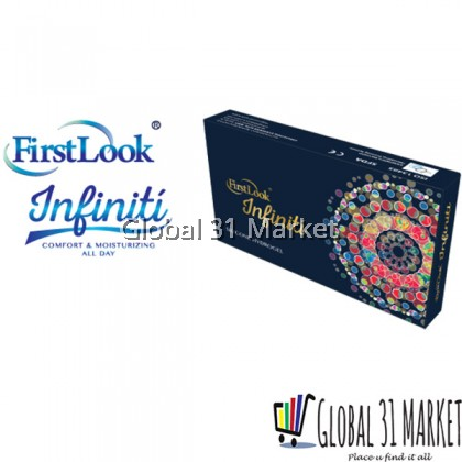 Firstlook Infiniti , Silicon Hydrogel Color Contact lens , 14.5mm