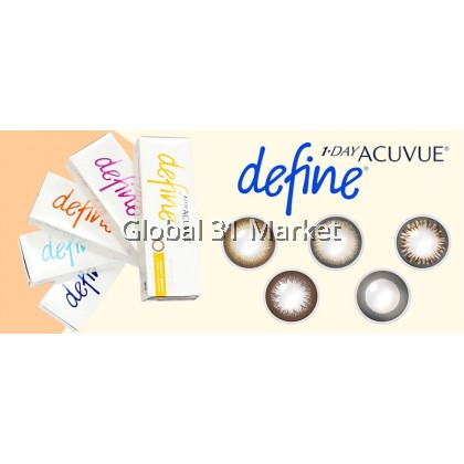 1-DAY ACUVUE® DEFINE® Daily Disposable Color Contact Lens 30pcs/ Box