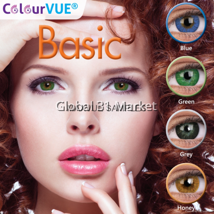 ColorVue Basic Series , 3 Month Color lens , 14mm , (Plano Only)