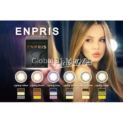 Igel Enpris Monthly Color Contact lens ,EOS Color 14.5mm