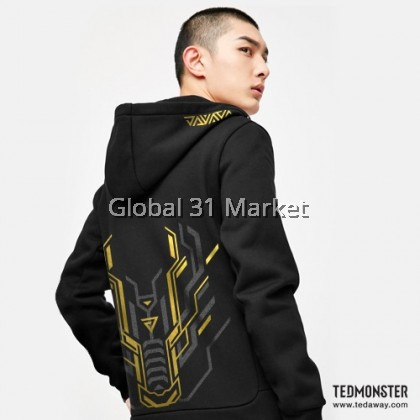 Ted Monster DRAGON J RIDER GOLD EDITION HOODIE , Unisex