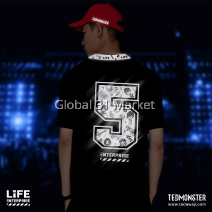 TED MONSTER LIFE ENTERPRISE LIMITED EDITION Tshirt , Unisex , Shinning