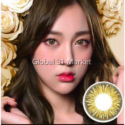 Kazzue Heavenly Series , 3 Month Color Contact Lens , 14.5mm