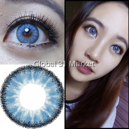 Kazzue Cherish Series , 3 Month Color Contact lens , 14.2mm