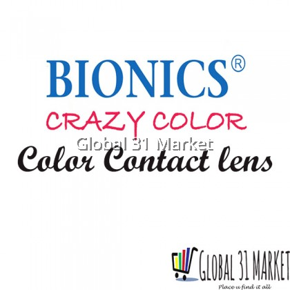 Bionics Crazy Lens for Cosplay and Party 3 Months Disposable , 14.2mm
