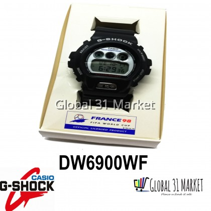 Casio , G-shock DW6900 WF , Fifa World Cup France 1998 Special Edition (Ready Stock)