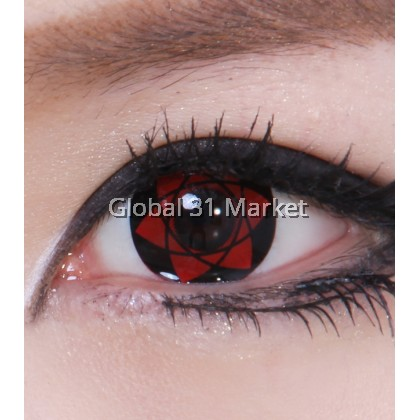 Geolica Crazy Lens Animation Series ,Cosplay Lens  Plano Only (READY STOCK)