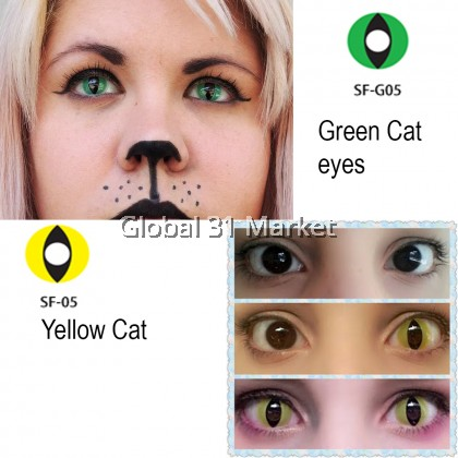Geolica Crazy Contact lens Theatrical Series , Plano Only (READY STOCK)