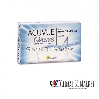 ACUVUE OASYS® with HYDRACLEAR® PLUS Contact Lenses , Clear , 14mm