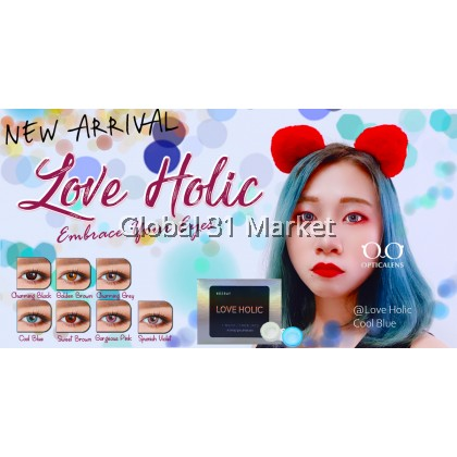 Love Holic , Hueray 1 Month Color Disposable Color Contact lens , Silicone hydrogel