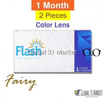 Flash Fairy MaxVue 1 Month Disposable Contact lens ,14mm