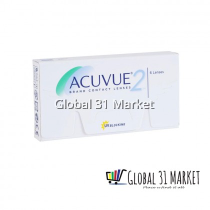 ACUVUE® 2 2-Week Contact Lenses  6 pcs base 8.3mm ( Pre order 7 Day )