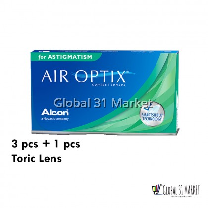 AIR OPTIX® for Astigmatism Contact Lenses  3 pcs Free 1 trial  Pre order 7 day