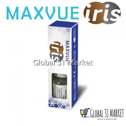 Maxvue Prosthetic Lens Iris Lens 4 Color Ready STock 1 year Disposable