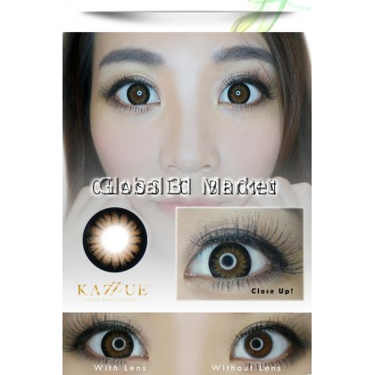 Kazzue Toric 3 Month Color Contact lens 2 pcs /box ( can Mix power ) Ready stock