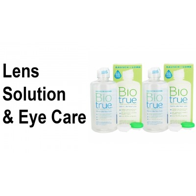 CONTACT LENS SOLUTION & EYE CARE
