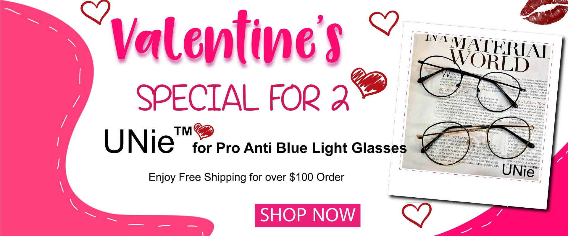 Unie Anti Blue Light Glasses